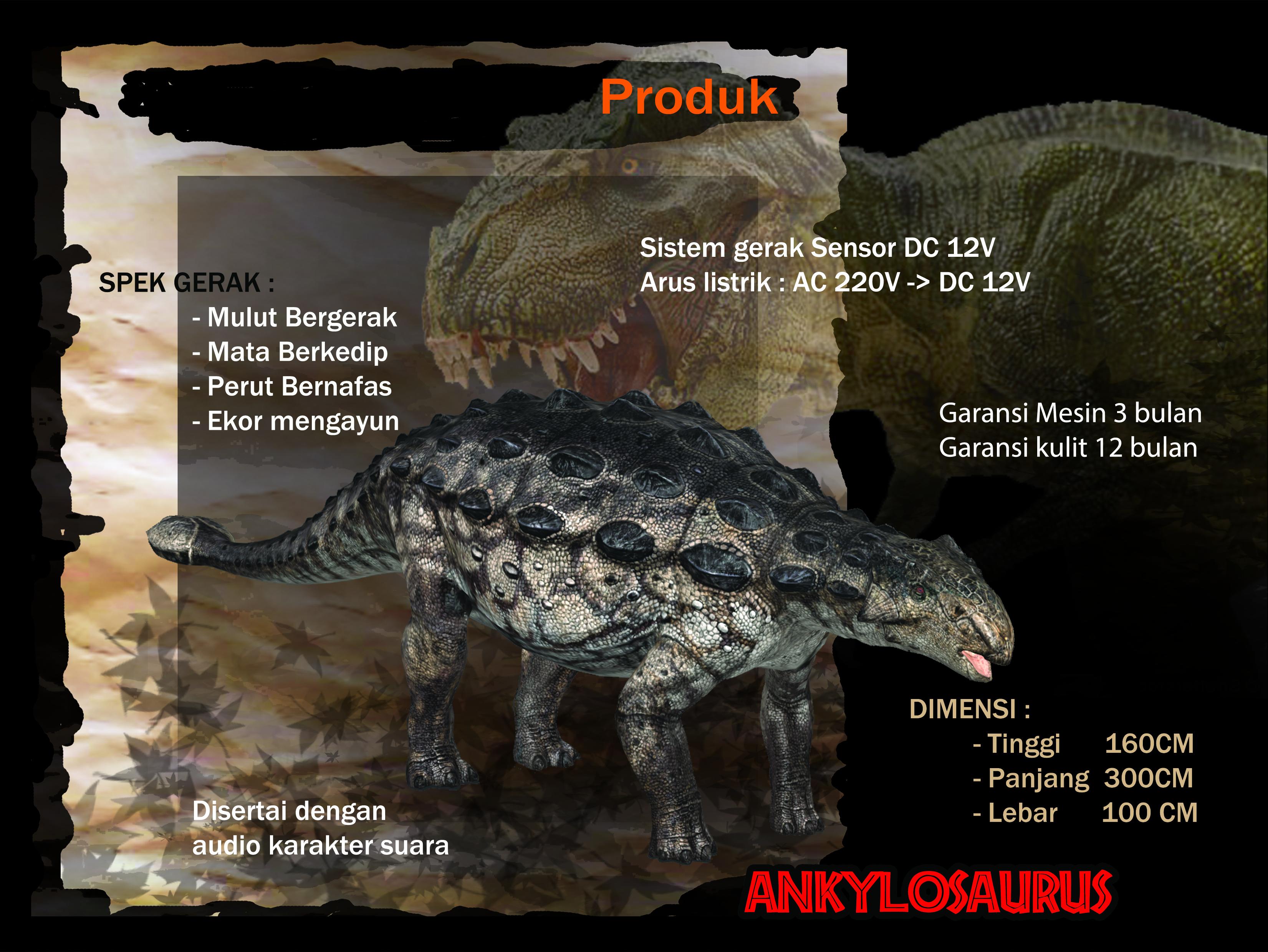 ANKYLOSAURUS-LANDSCAPE
